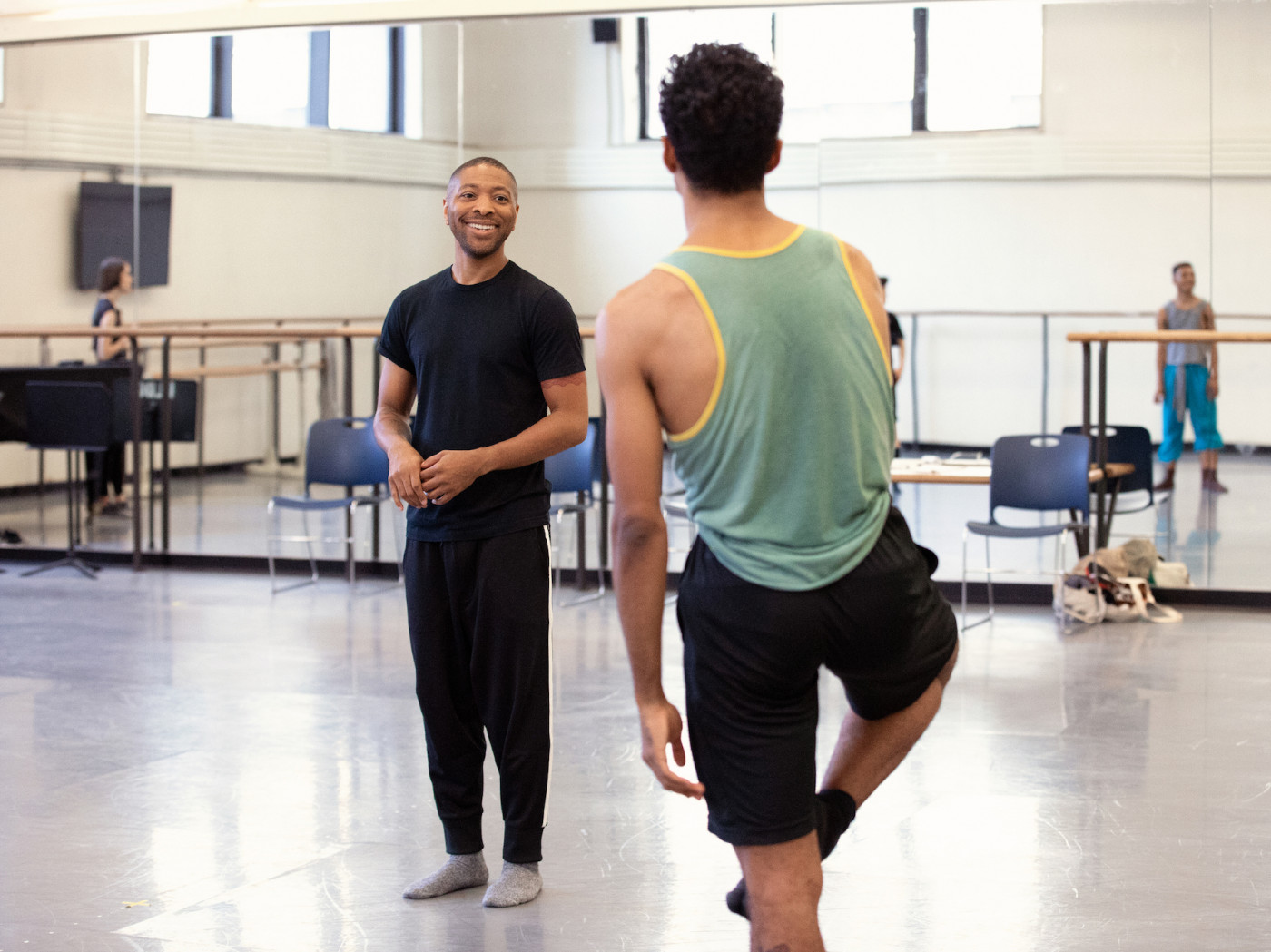 "Kyle Abraham: ""dancers of New York City Ballet   innately hear music"""